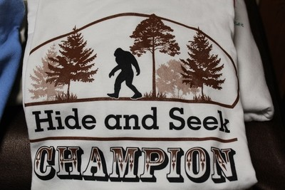 Hide and Seek Champion Brown T-shirt