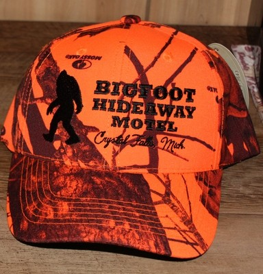 Bigfoot Hideaway Orange Camo Hat