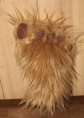 Brown Big Foot Plush