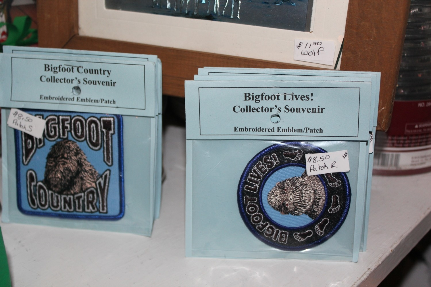 Bigfoot Country Embroidered Patch