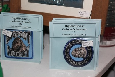 Bigfoot Country Embroidered Patch - Round