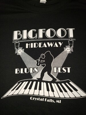 Blues Fest 2019 Black T-shirt
