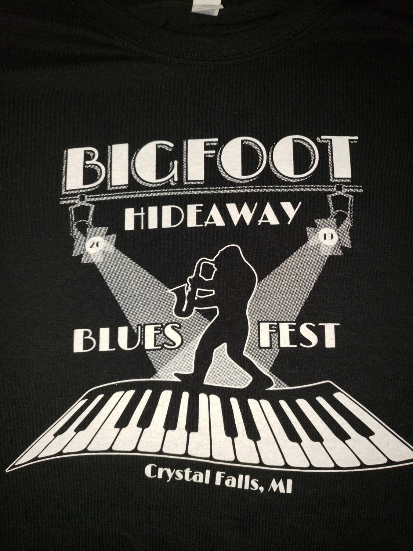 Blues Fest 2019 Black T-shirt