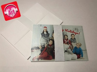 5 x 7 Folded Media Cards
