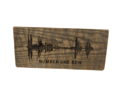 Soundwave Art Barn Wood Block