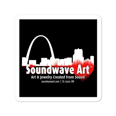 Soundwave Art™ Sticker