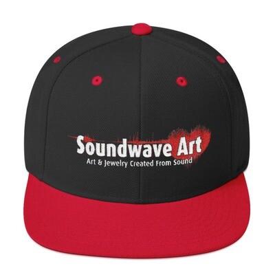 Soundwave Art™ Snapback Hat