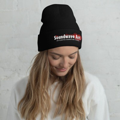 Soundwave Art™ Cuffed Beanie