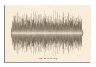 CCR - Bad Moon Rising Soundwave Wood