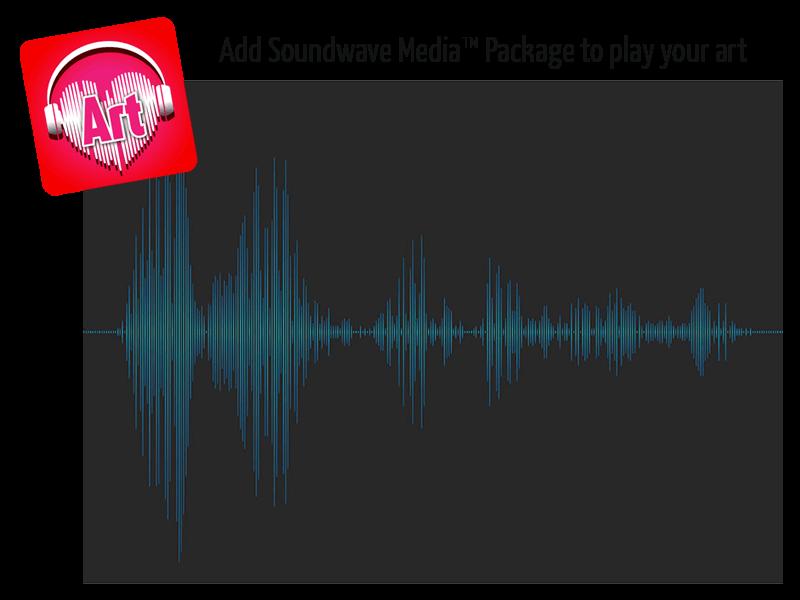 Soundwave Art Print 00095