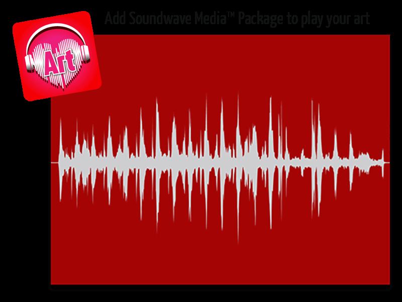 Soundwave Art Metal