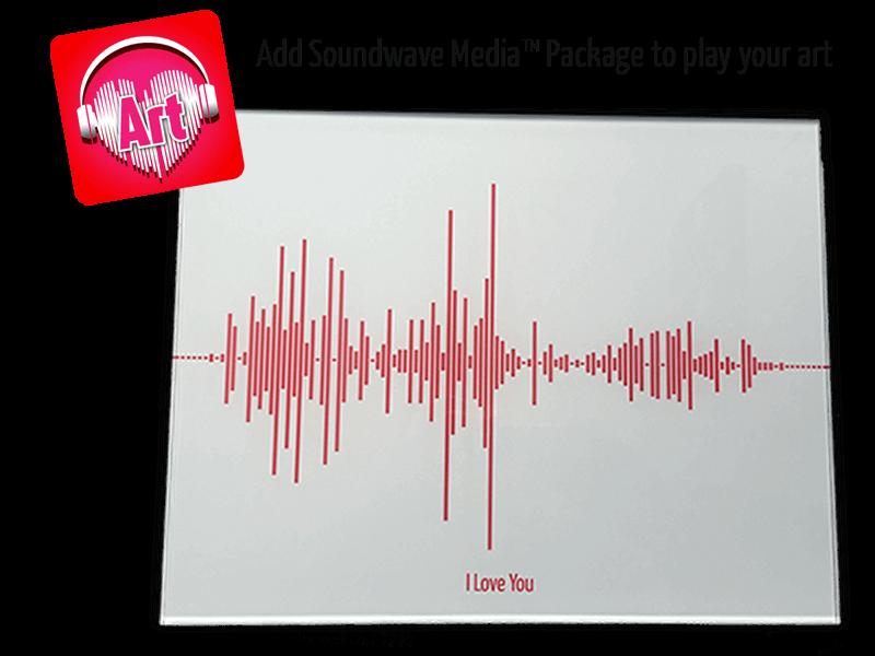 Soundwave Art Acrylic Print