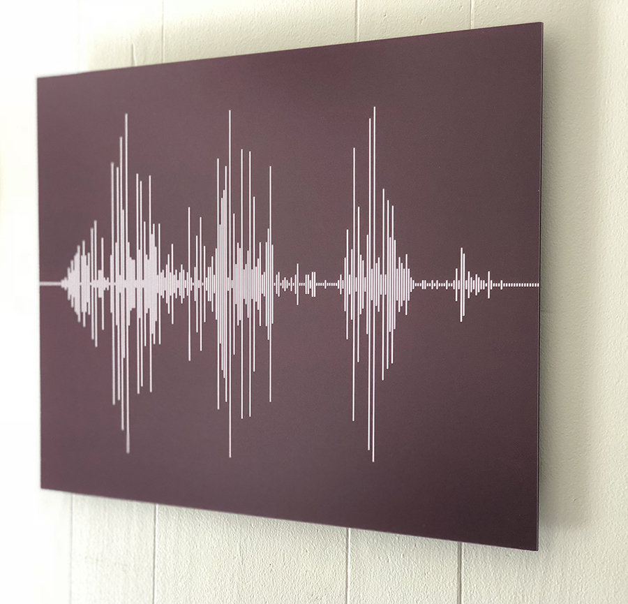 Soundwave Art Aluminum