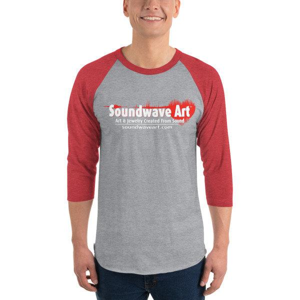 Soundwave Art™ Logo 3/4 sleeve