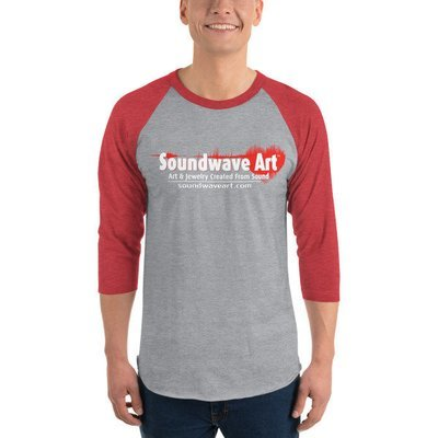 Soundwave Art™ Logo 3/4 sleeve