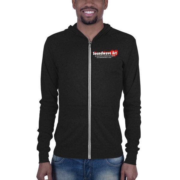 Soundwave Art™ Logo Unisex zip hoodie 01120