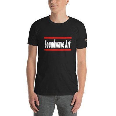 Soundwave Art Text Unisex T-Shirt