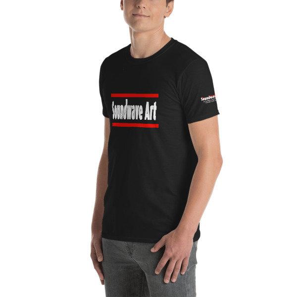 Soundwave Art Text Unisex T-Shirt