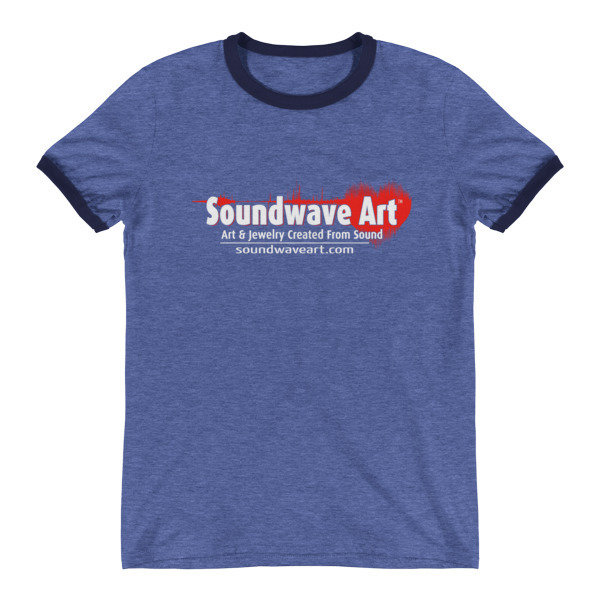 Soundwave Art™  Ringer T-Shirt 01433