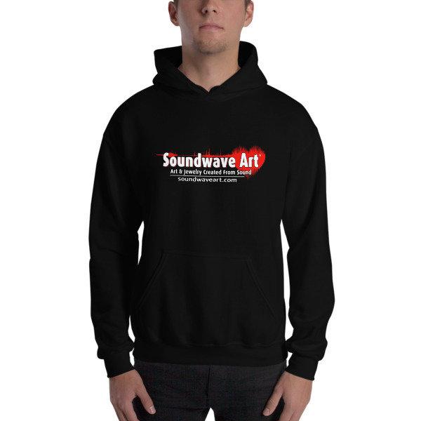 Soundwave Art™ Hooded Sweatshirt 01434