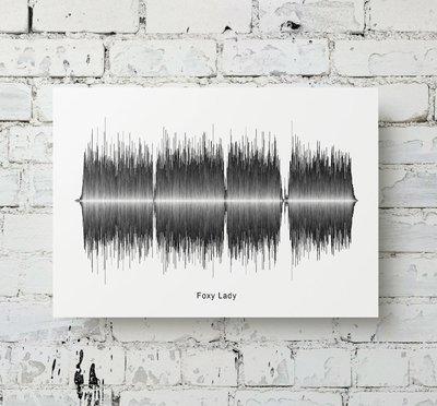 Jimi Hendrix - Foxy Lady Soundwave Metal