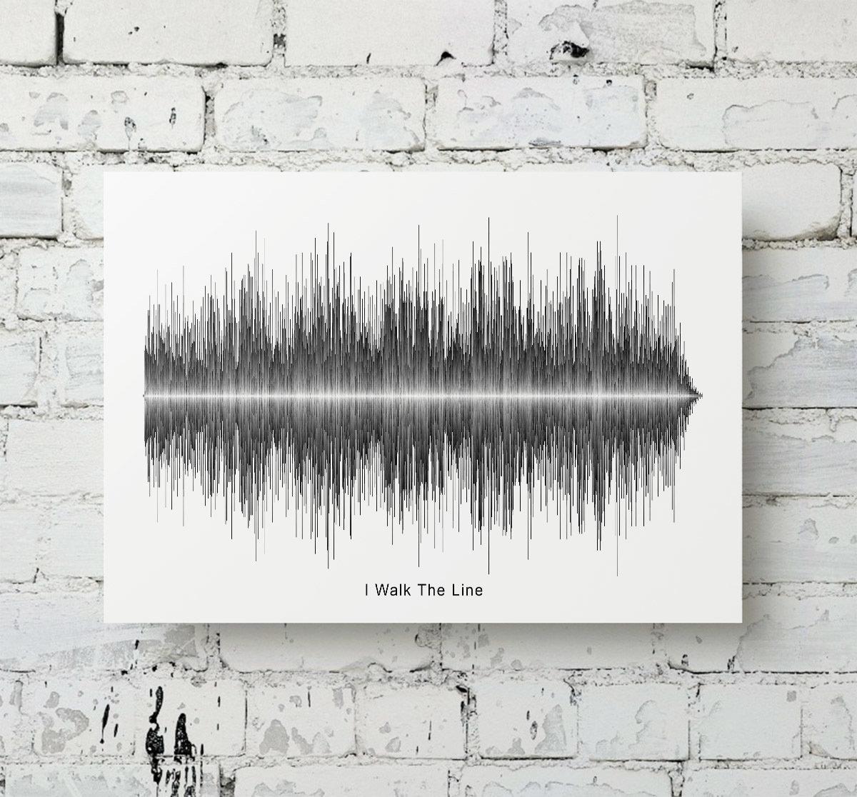 Johnny Cash - I Walk The Line Soundwave Metal