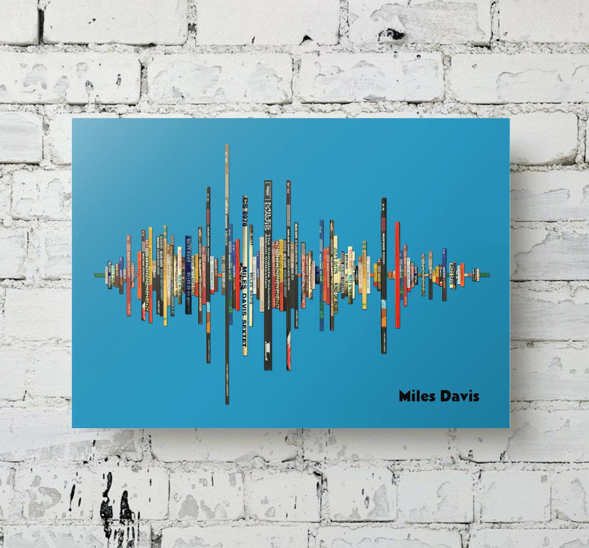 Miles Davis Album Soundwave Metal