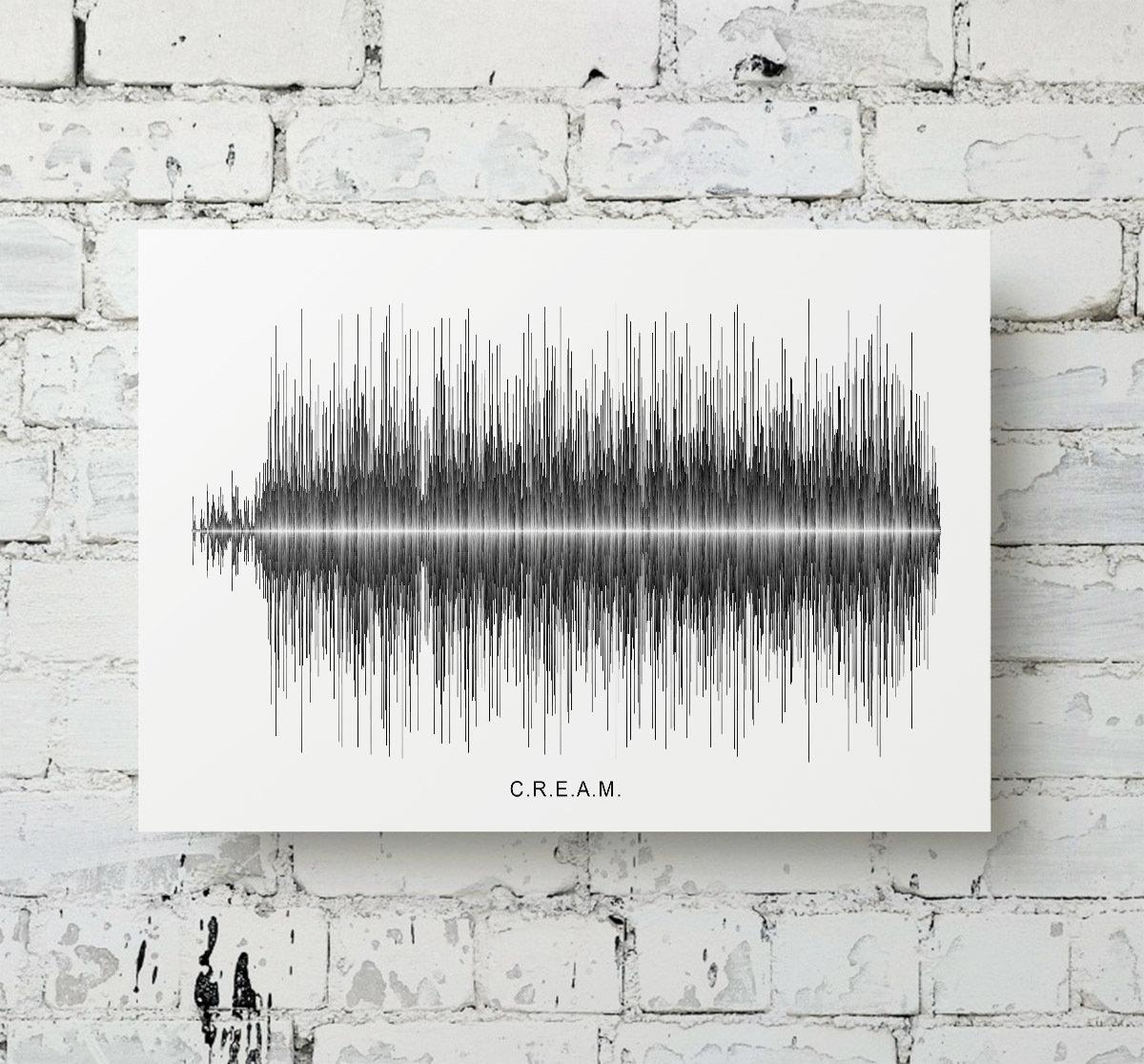 Wu-Tang Clan - C.R.E.A.M. Soundwave Metal