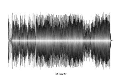 Imagine Dragons Believer Soundwave Digital Download