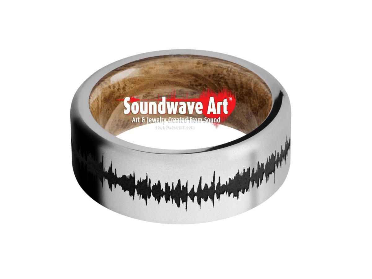 Titanium Polish - black Soundwave with Whisky Barrel Sleeve