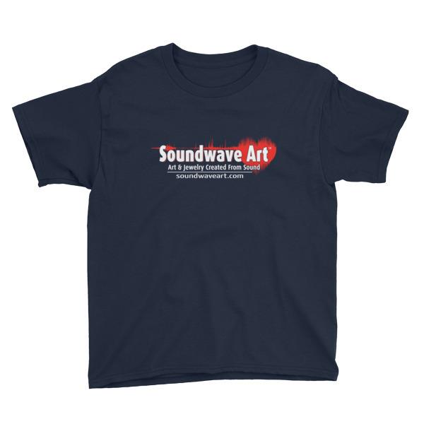Soundwave Art™ Youth Short Sleeve T-Shirt