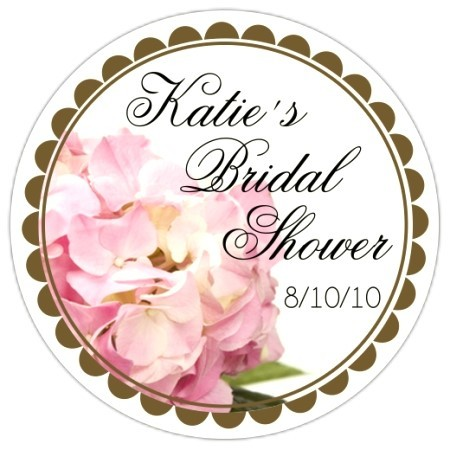 Hydrangea Floral Wedding Stickers 107-sticker