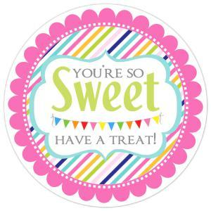 You're So Sweet Have A Treat Stickers 115-sticker