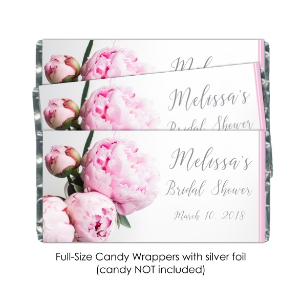 Peonies Candy Wrappers 107-weddingwrappers