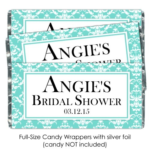 Tiffany Style Candy Wrappers