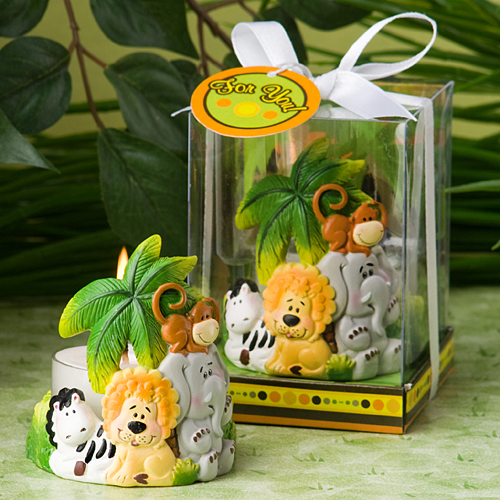 Jungle Critters Collection Candle Favors 131-BABY