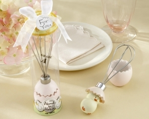 """""""About to Hatch"""" Stainless-Steel Egg Whisk in Showcase Gift Box 266-BABY"""