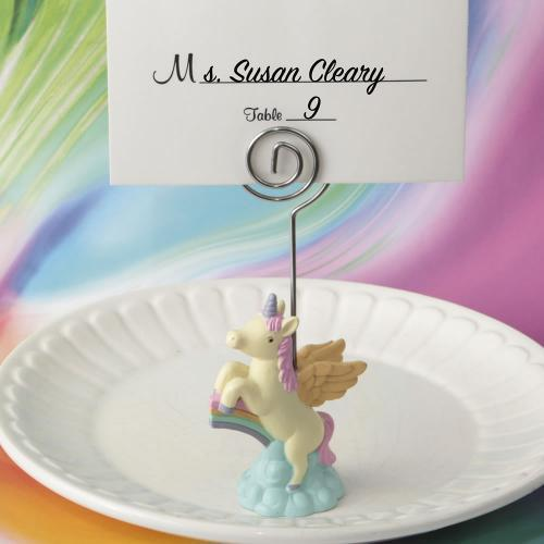 On Trend Unicorn Place Card Holder 782-PCH