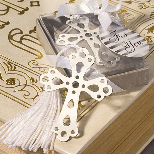 Book Lovers Collection Cross Bookmark Favors 165-BC
