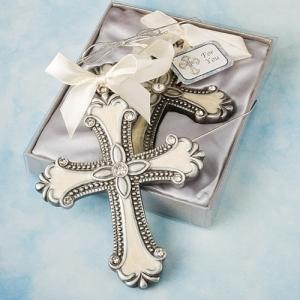Beautiful, Decorative Cross Ornament Favors 156-BC