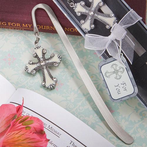 Cross Themed Bookmark Favors 179-BC