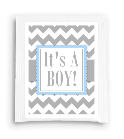 It's a Boy Baby Shower Tea Bag Favor 100-TeaFavor