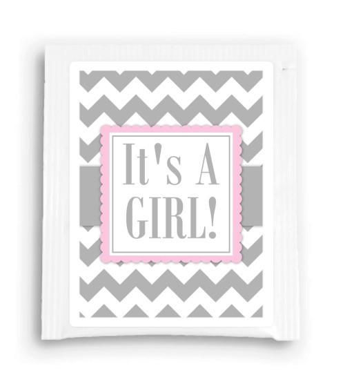 It's a Girl Baby Shower Tea Bag Favor 101-TeaFavor