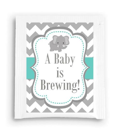 Elephant Baby Is Brewing Tea Favor 107-TeaFavor