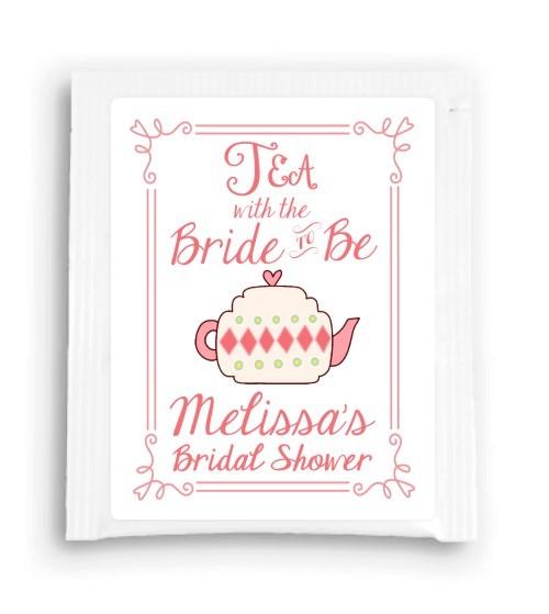Cutesy Tea with the Bride to Be Tea Favor 201-TeaFavor
