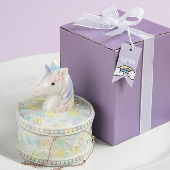 Delightful Unicorn Design Jewelry / Gift Box 139-BIRTHDAY