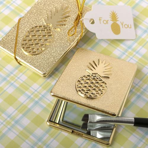 Pineapple Themed Warm Welcome Collection Compact Mirror 165-BEAUTY