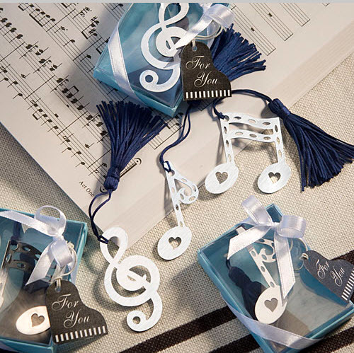 Musical Note Bookmark Favors 171-U