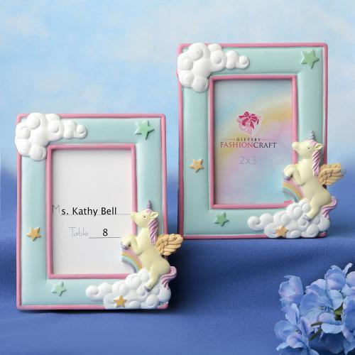 "Unicorn 2"" x 3"" Place card Frame/Photo Frame 124-FrameFavor"