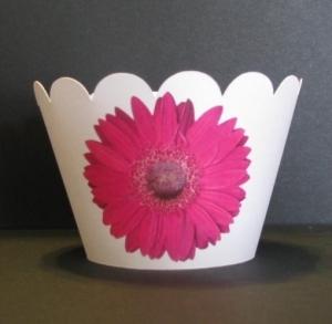 Daisy Cupcake Wrappers 104-Daisy